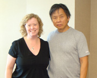 Picture of Stephanie and Dr. Kam Yuen
